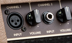 """XLR and ¼"""" Inputs"""