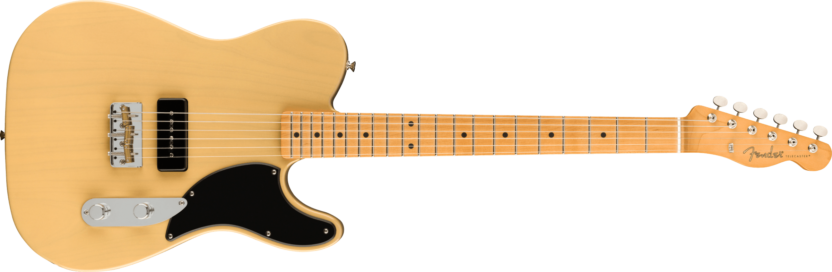 a guitar with a black background