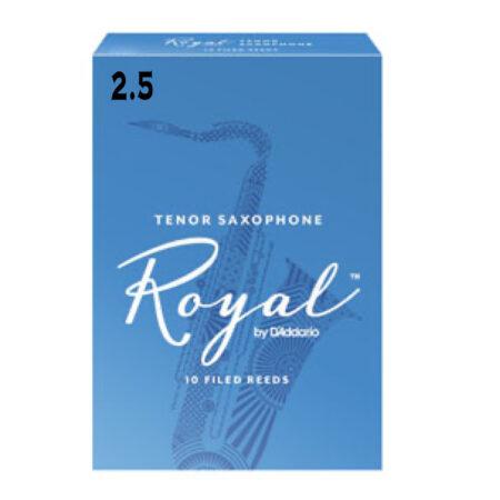======-=- 2.5 TENOR SAXOPHONE Royal 10 FILED REEDS