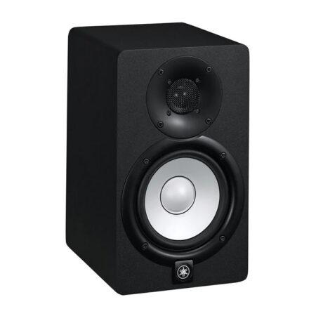 a black rectangular speaker
