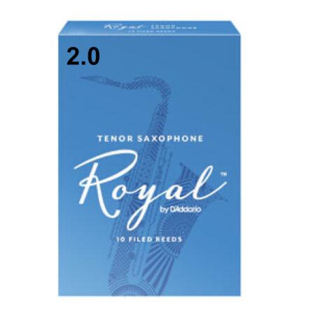 ========= 2.0 TENOR SAXOPHONE Royal 10 FILED REEDS