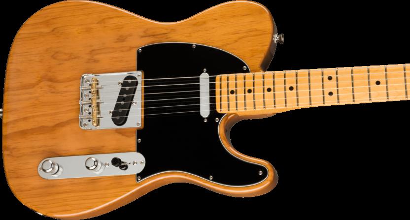 a brown electric guitar