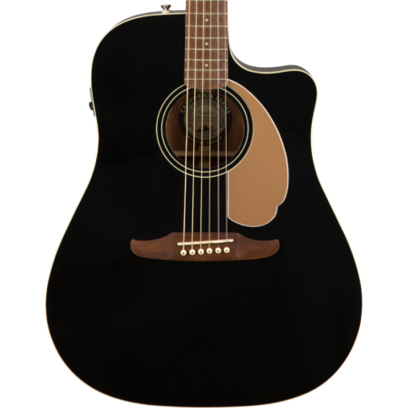 a guitar on a black background