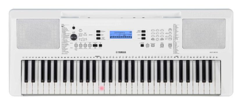 a white electronic device