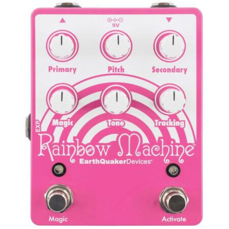 """9V - Primary Pitch Secondary Magic Tone Tracking EXP Rainbow Machine EarthQuakerDevices"""" Magic Activate"""