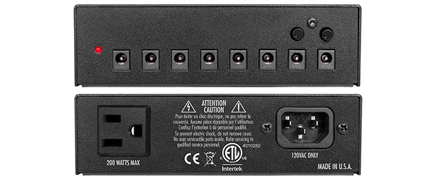 a black electronic device