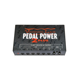 *VOODOO LAB PEDAL POWER 2 PLUS 9 VOLT ISOLATED DC OUTPUTS 12V 250ml SAG 250mA - 5