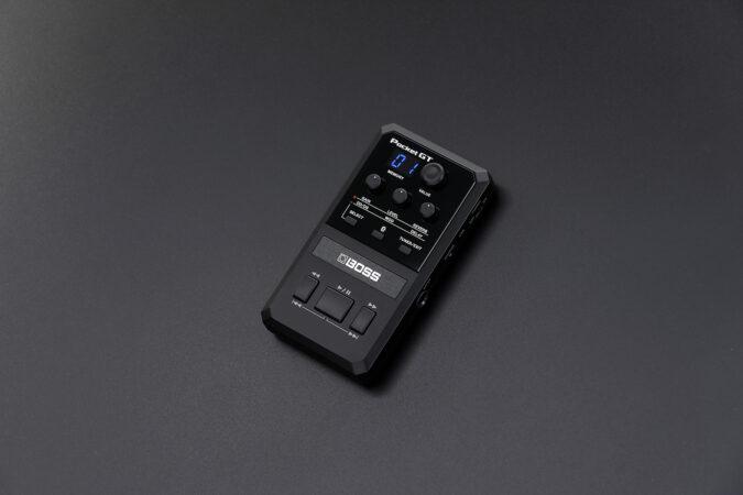 a black remote control
