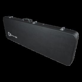a black rectangular object