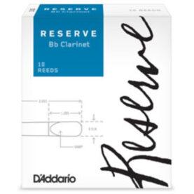 RESERVE Bb Clarinet 10 REEDS D'Addario Reserve